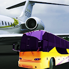 Bus Simulator Airport Driving Game 2019:City Coach icon