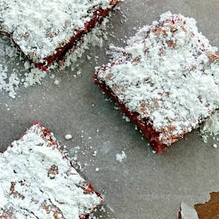 Raspberry Angel Food Cake.
