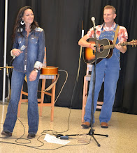 Photo: At the Kraft Dibs On My Ribs BBQ Cookoff at Tyson World Headquarters, country act Joey + Rory entertained the crowd.