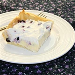Blueberry Eclair Cake