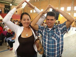 Photo: Luis Alfredo Garcia y su esposa