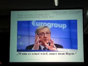 Photo: claus vogt ~ juncker, what a liar :-(