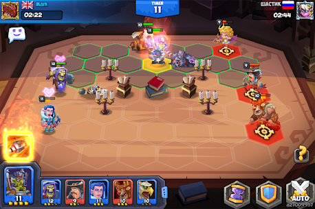 Tactical Monsters Rumble Arena MOD APK [High Attack + Defense] 8