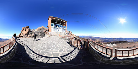 Photo: Teide Upper Teleferico Station Viewpoint