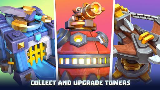 Wild Sky TD: Tower Defense Legends in Sky Kingdom screenshots 23