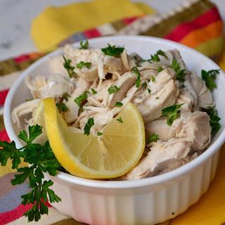 Lemon Shredded Chicken.