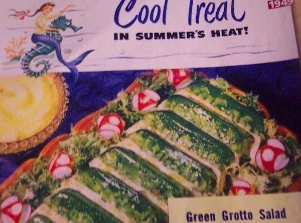 Green Grotto Salad.. (ann Page) Recipe 1949