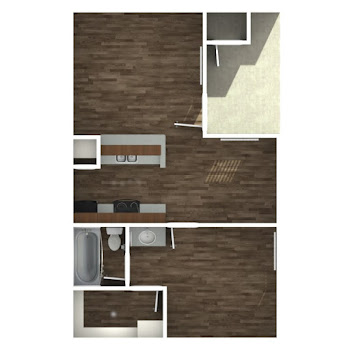 Go to One Bedroom A Floorplan page.