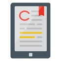 The CompTIA Self-Paced eReader icon