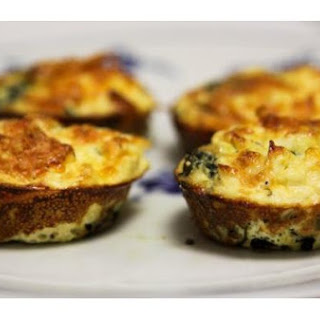 Mini Spinach and Feta Quiches