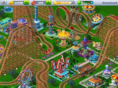 RollerCoaster Tycoon® 4 Mobile MOD APK (Unlimited Money) 1