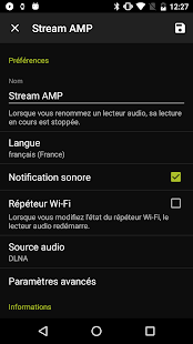 Stream CONTROL Capture d'écran