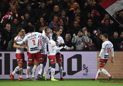 Een enkele kanonskogel beslist matige, maar sfeervolle derby tussen KV Kortrijk en Zulte Waregem