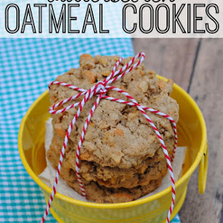 Butterscotch Oatmeal Cookies