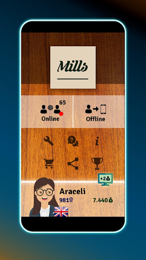 Mills | Nine Men's Morris - Free board game online apkslow screenshots 7