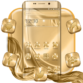 Gold Silk Launcher Theme