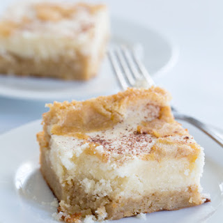 Easy Gluten Free Apple Custard Cake