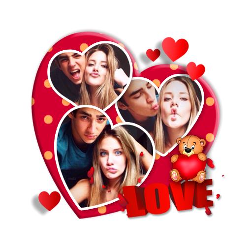 Baixar Colagem de Amor 💓 Moldura Dupla para Foto para Android