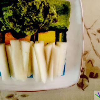 Avocado Blue Cheese Dip with Daikon Recipe