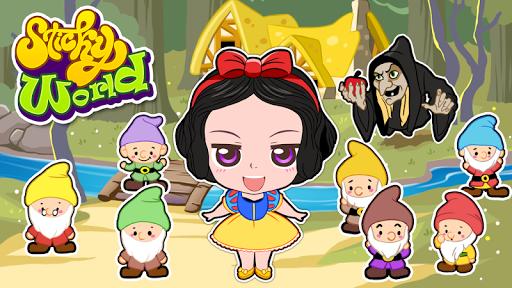 Sticker Kids - Princess Maker android2mod screenshots 3