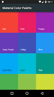 Download Material Color Palette Free