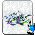 Graffiti Wall Spray Art Theme icon