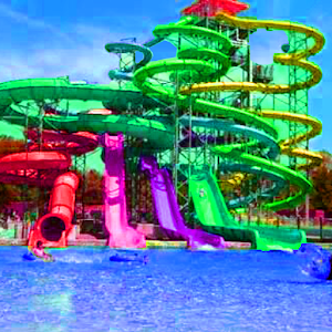 Water Games Mania 3D Water Slide Games