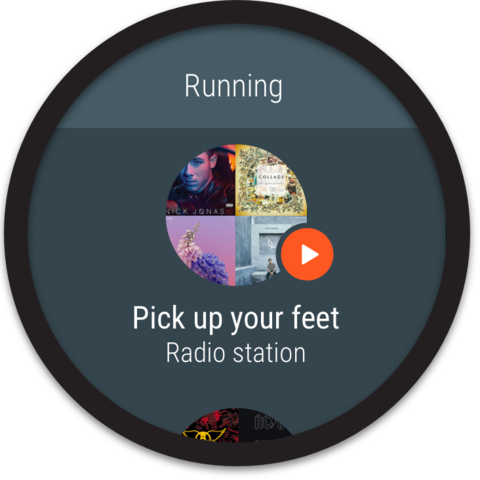 Screenshot 10 for Google Music's Android app'