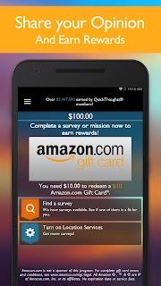 QuickThoughts – Earn Rewards screenshot 01