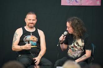 Photo: Petri Hiltunen Anabasis albumistaan ja häntä haastatteli Toni Jerrman