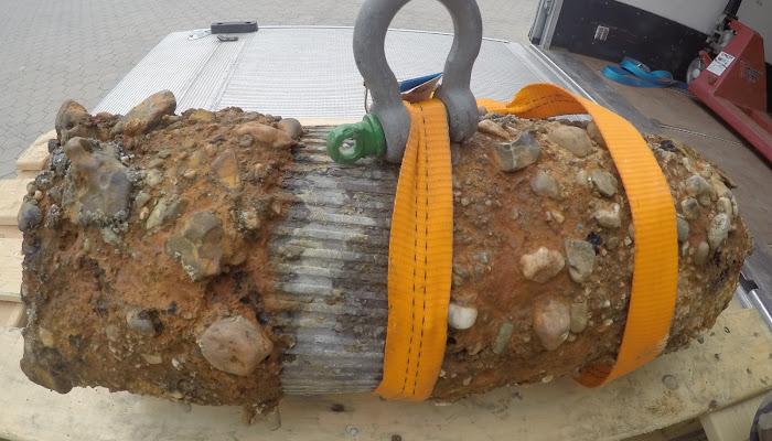 Amerikaanse 8 inch brisant granaat