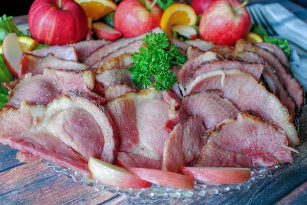 Kentucky Bourbon Glazed Ham Recipe