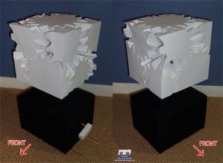 Gear Cube Papercraft