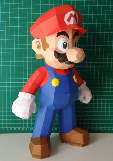 New Super Mario Bros Papercraft