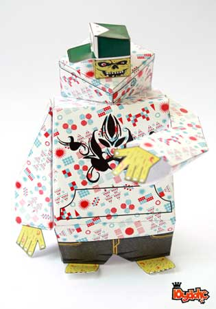 Stage Paper Toy Boney