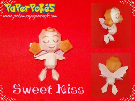 Pokemon Sweet Kiss Papercraft