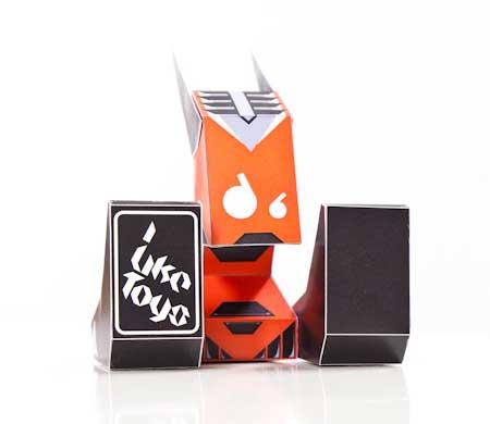 TOYSREVIL MechaBunny Paper Toy
