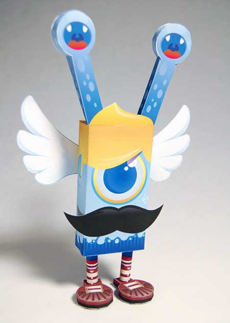 Cyclops Boss Paper Toy