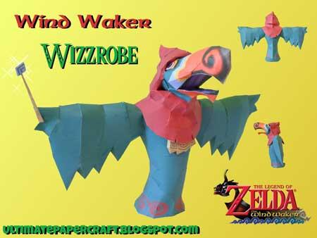 Wizzrobe Paper Model