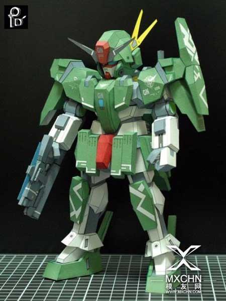SD Cherudim Gundam Papercraft