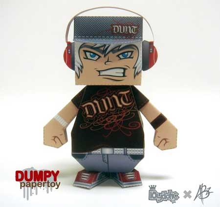 Dumpy Paper Toy Abz