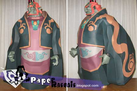 The Wind Waker Ganondorf Papercraft