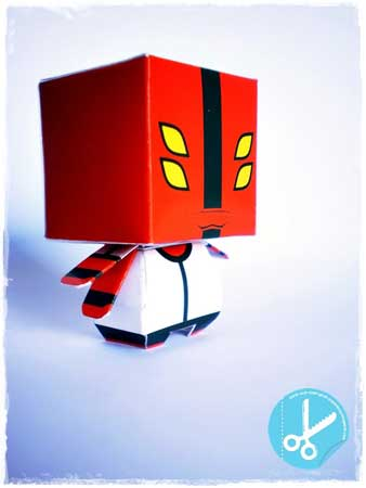 Ben 10 Papercraft Four Arms