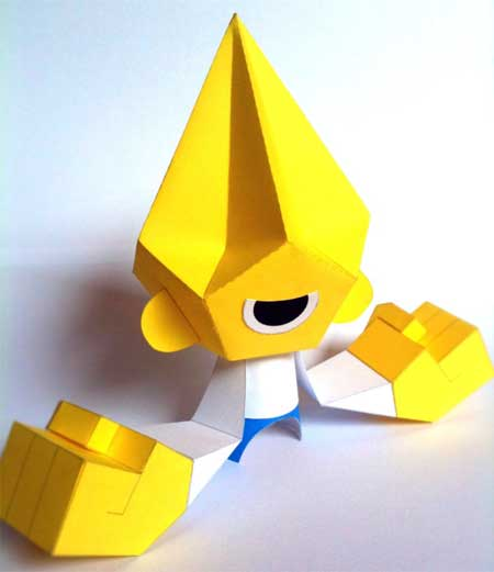 C-Myk Paper Toy x Phil Paper Power