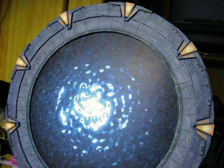 Stargate Papercraft Milky Way Pegasus