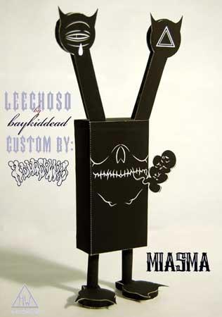Leechoso Paper Toy Miasma