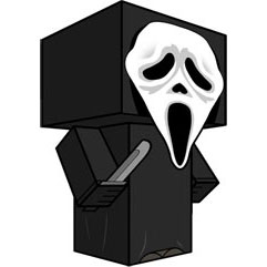 Scream Ghostface Papercraft