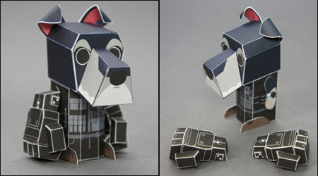 Amalo Power Fist Papercraft