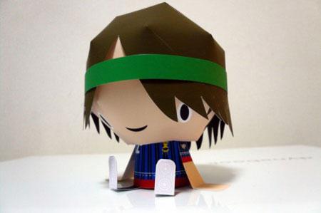 Kix Paper Toy