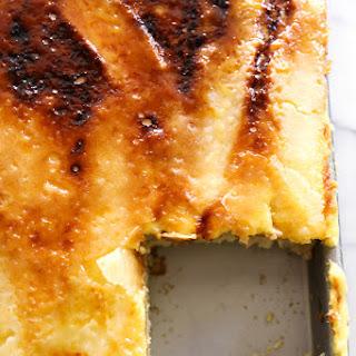 Creme Brûlée Sheet Cake